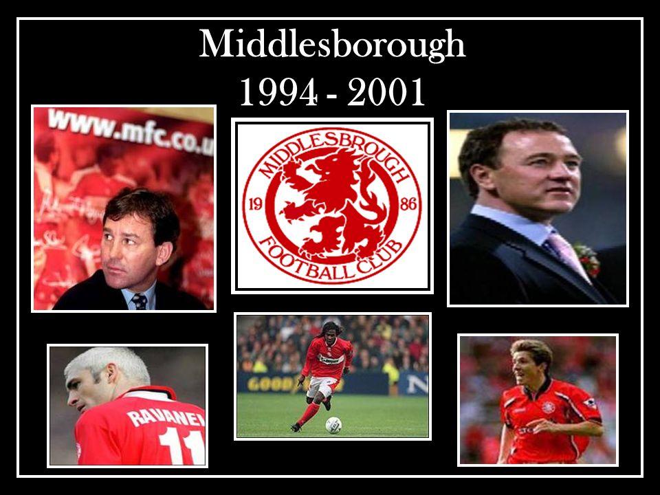 Middlesborough 1994 - 2001