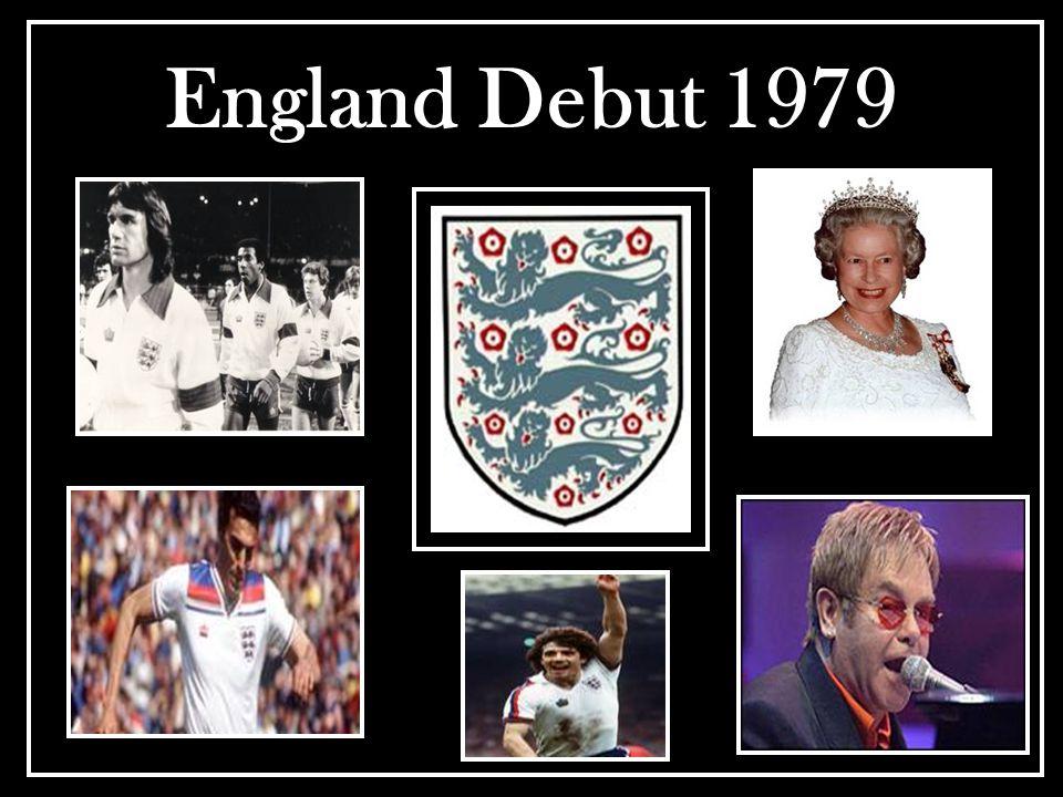 England Debut 1979