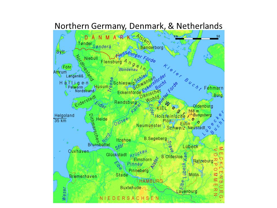 Northern Germany, Denmark, & Netherlands
