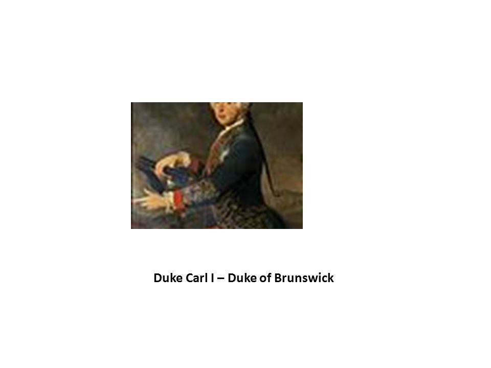 Duke Carl I – Duke of Brunswick