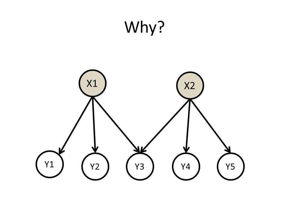 Why? X1 Y1 Y2Y3Y4Y5 X2