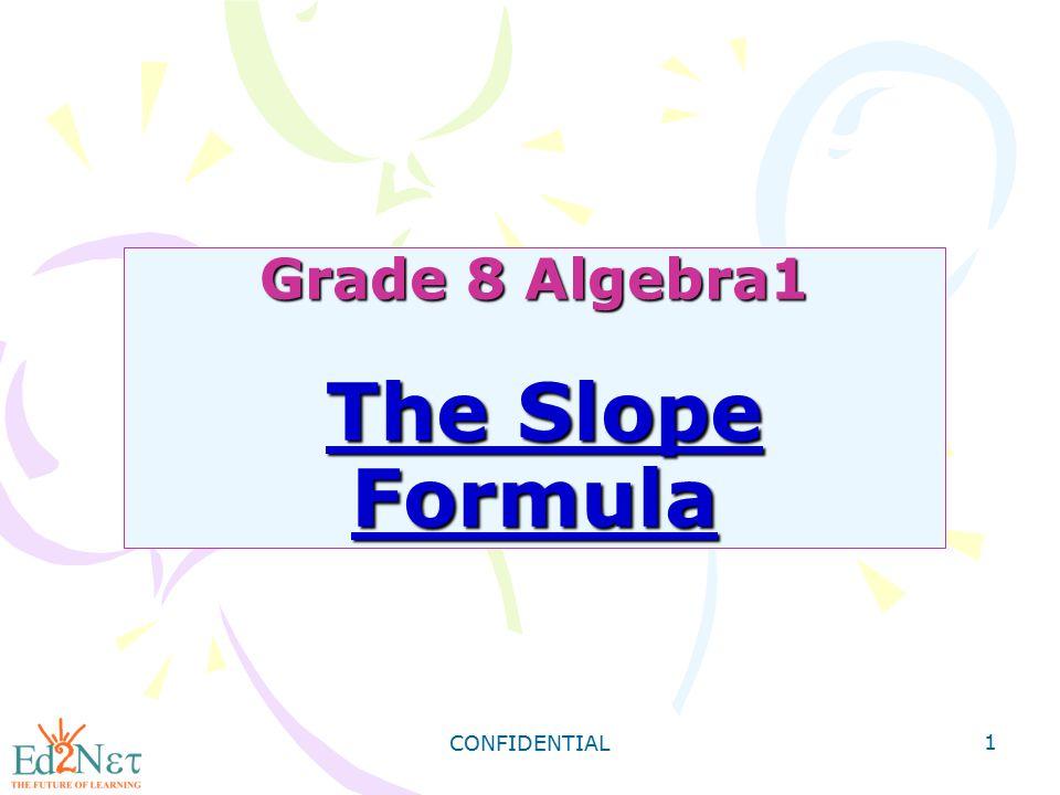 CONFIDENTIAL 32 Step2: Find the y-intercept.6x - 5y = 30 6 (0) - 5y = 30 Let x = 0.
