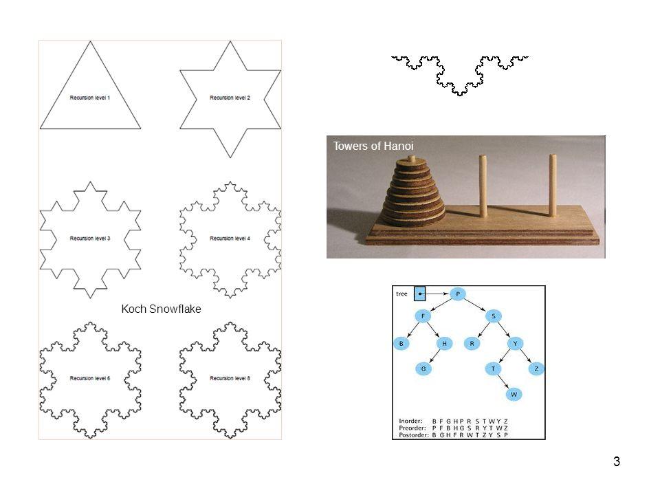 3 Towers of Hanoi Koch Snowflake