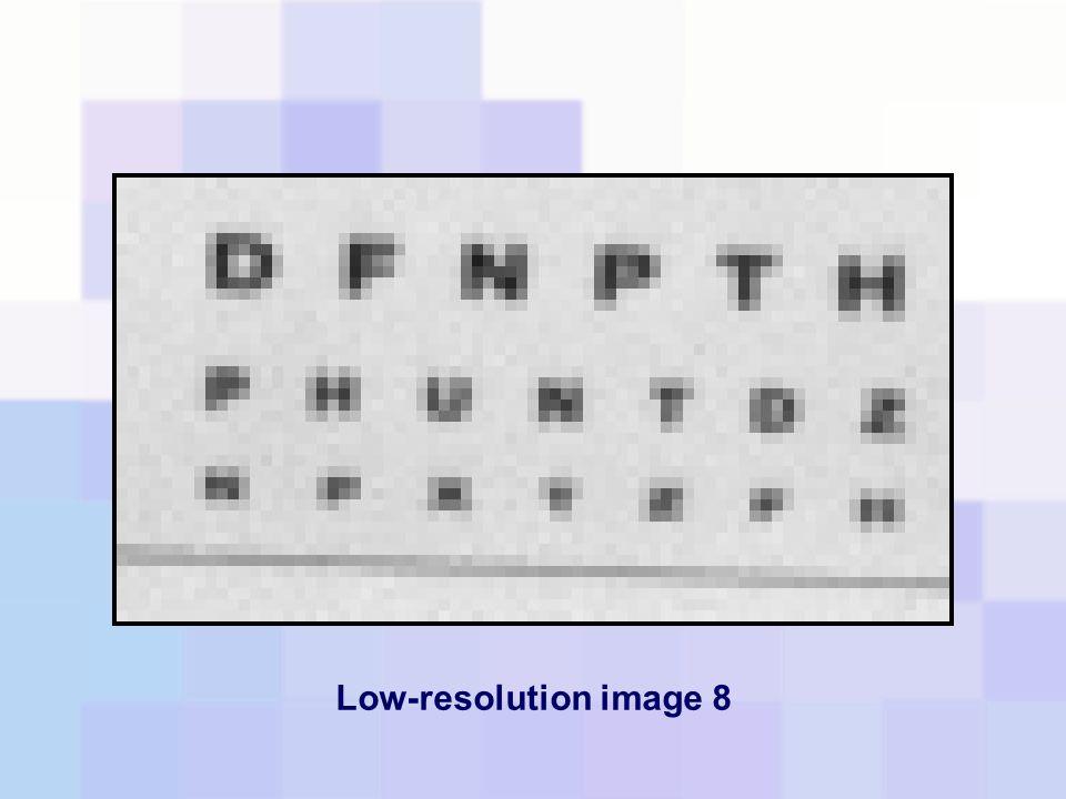 Low-resolution image 8