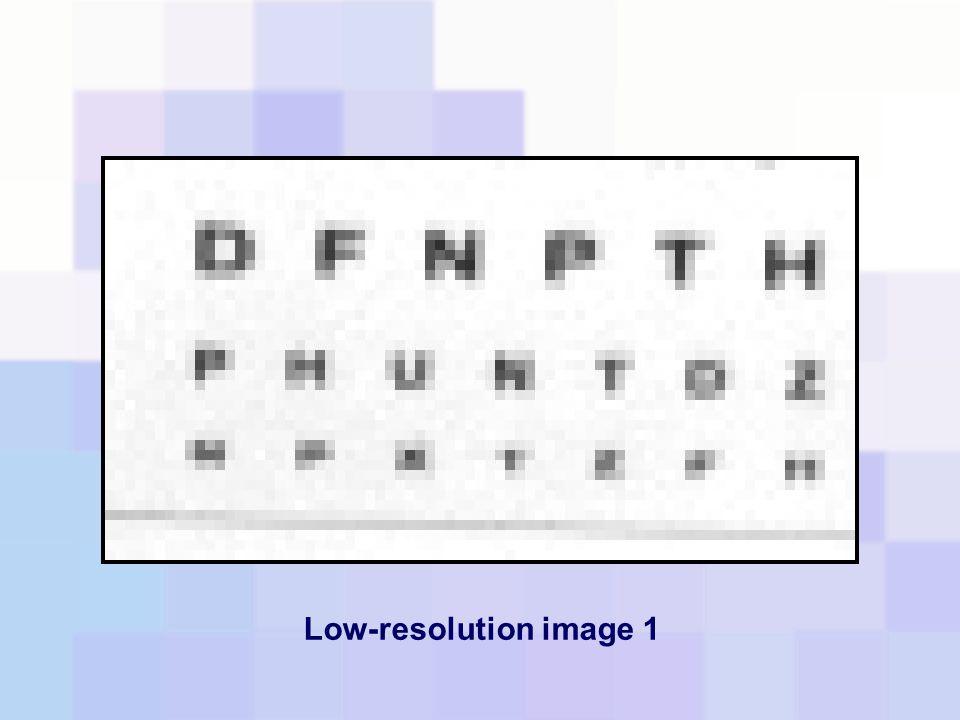 Low-resolution image 1