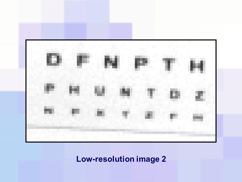 Low-resolution image 2