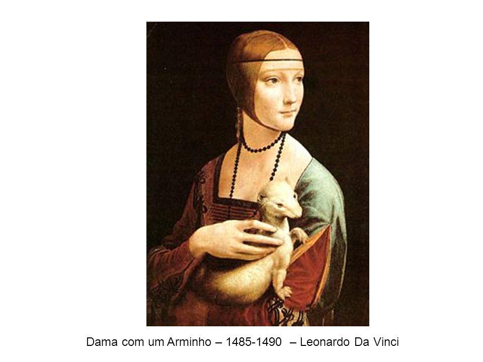 Dama com um Arminho – 1485-1490 – Leonardo Da Vinci