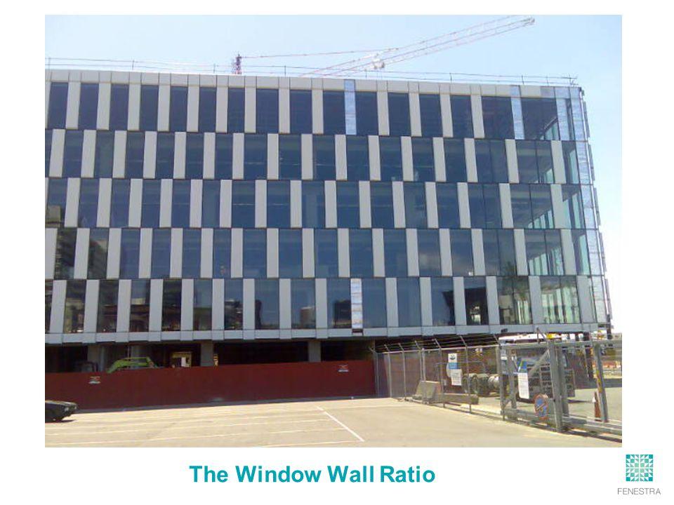 The Window Wall Ratio