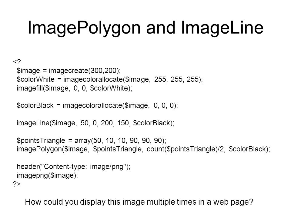 ImagePolygon and ImageLine <.