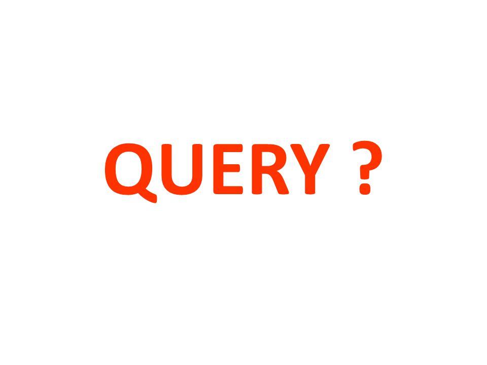 QUERY ?
