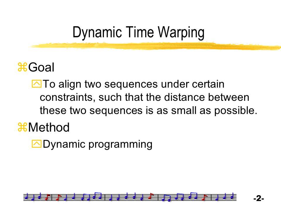 -3--3- Distance between Same-length Sequences  Distance between  Alignment