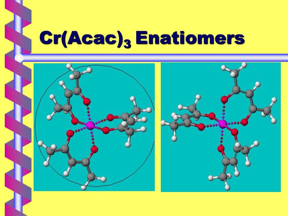 Cr(Acac) 3 Enatiomers