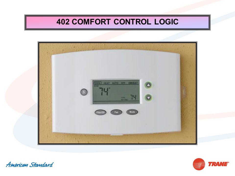 402 COMFORT CONTROL LOGIC
