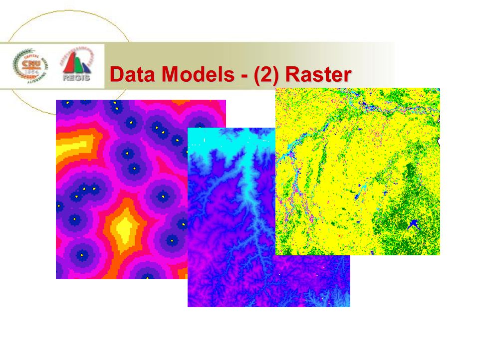 Data Models - (2) Raster