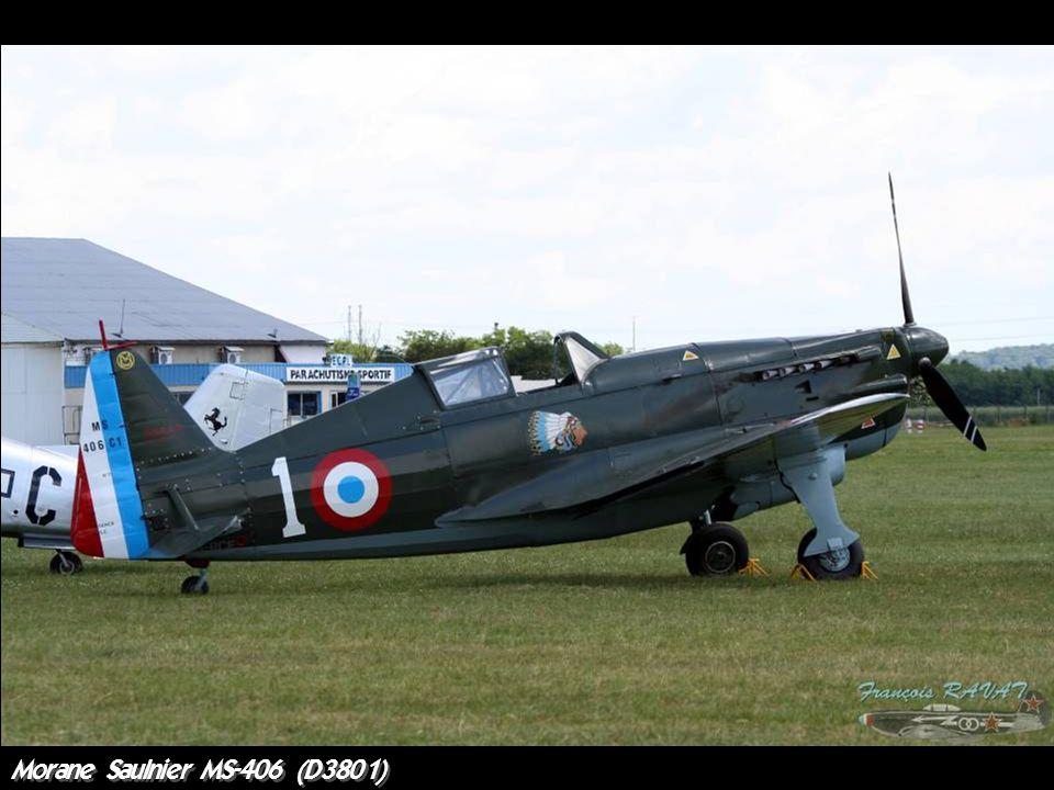 Morane Saulnier MS-406 (D3801)