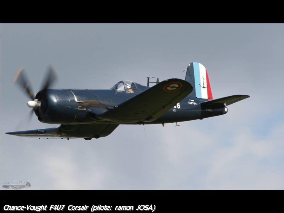 Chance-Vought F4U7 Corsair (pilote: ramon JOSA)