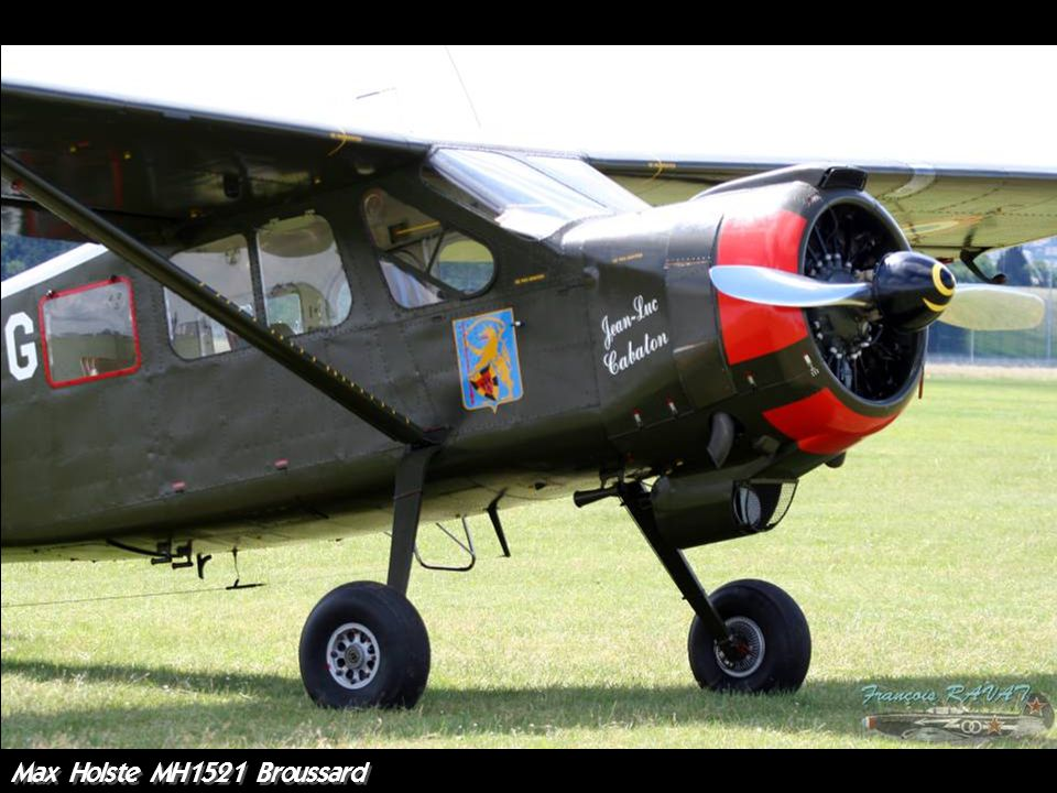 Max Holste MH1521 Broussard