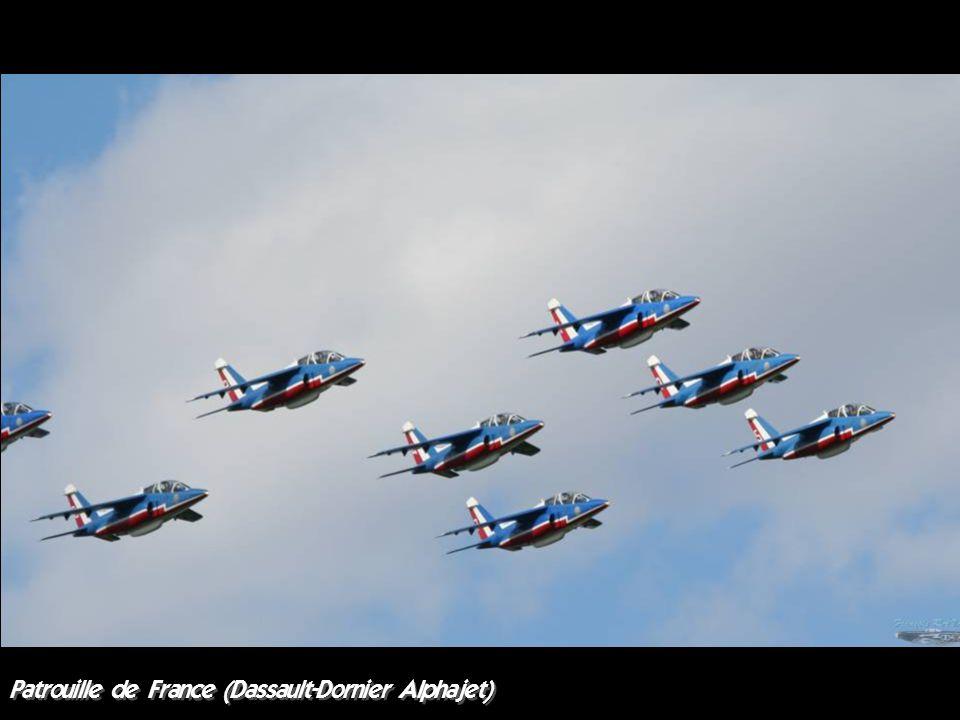 Patrouille de France (Dassault-Dornier Alphajet)