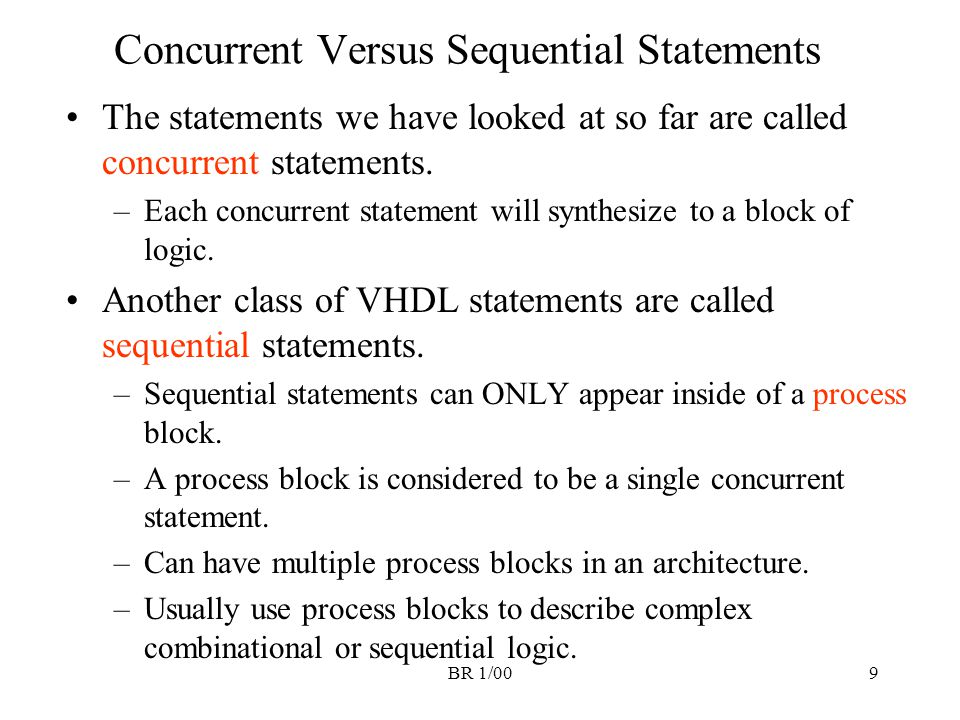 BR 1/0030 Comments on for-loop statement The for-loop can be used to repeat blocks of logic The loop variable i is implicity declared for this loop; does not have to be declared anywhere else.