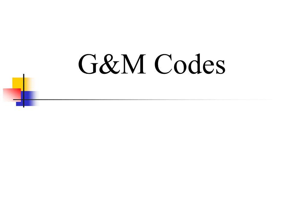 G&M Codes
