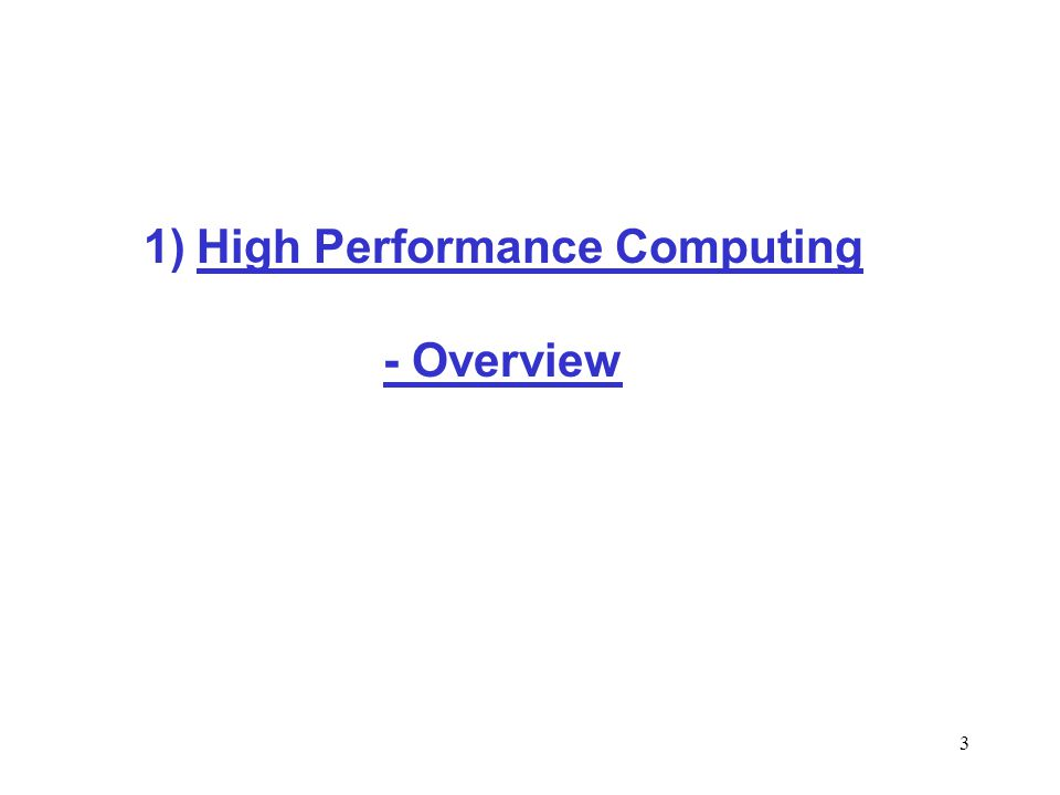 4 * Understanding HPC concepts * Why should programmers care about the architecture.