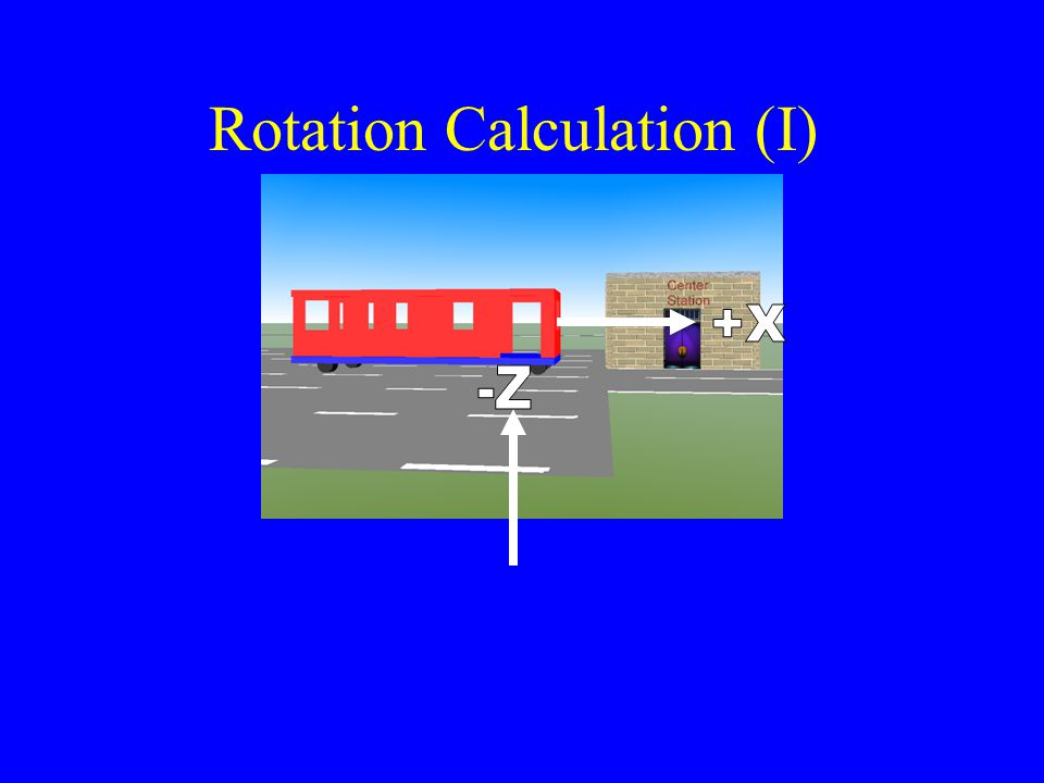 Rotation Calculation (I)
