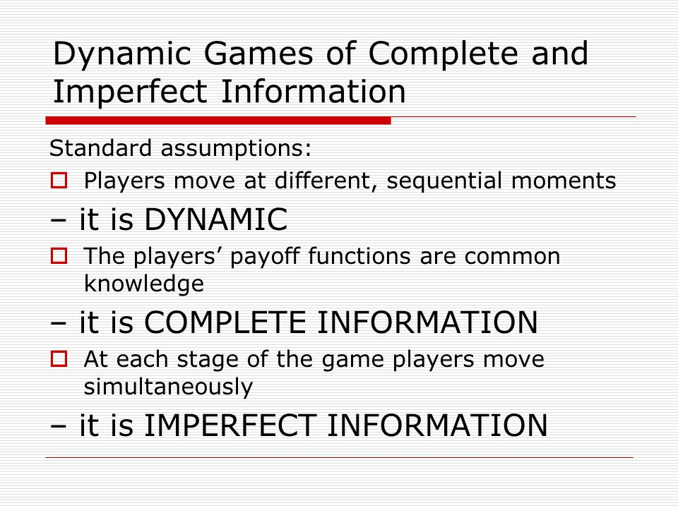 Finitely Repeated Games  Let G(T) denote the finitely repeated game in which stage game G is played T times, with the outcomes of all preceding plays observed before the next play begins.