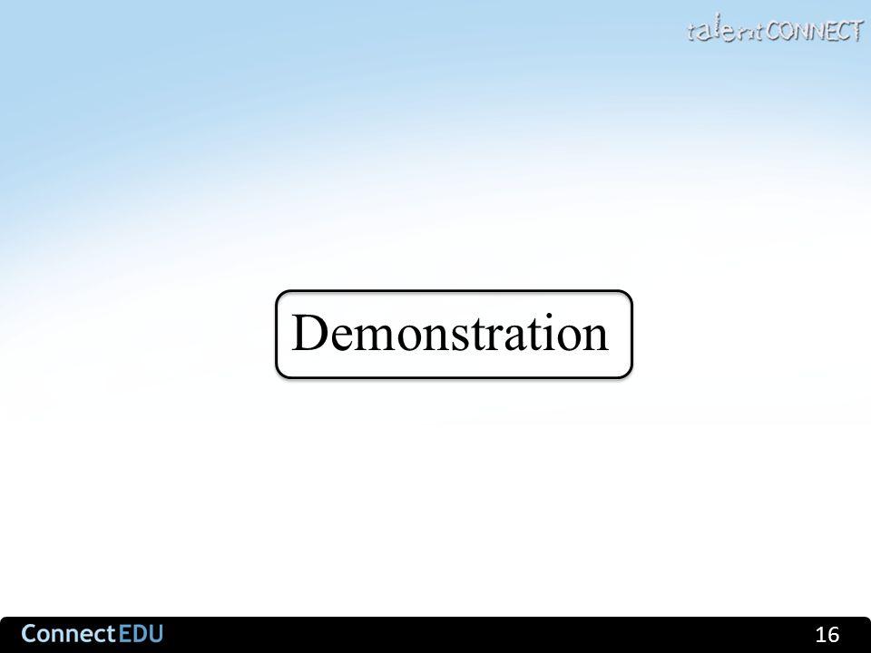 Demonstration 16