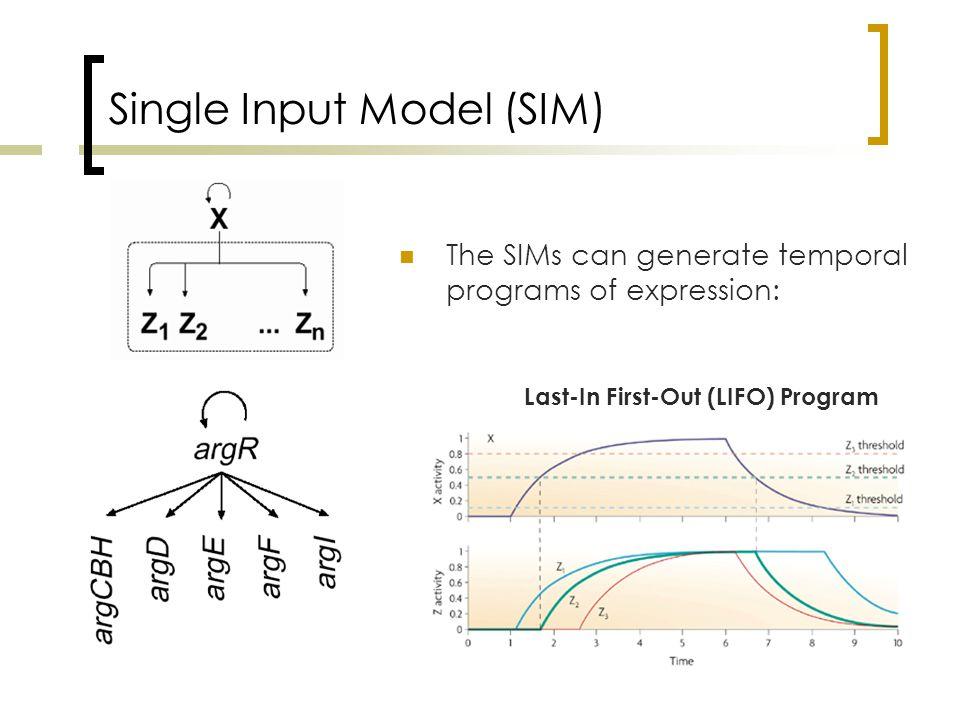 Popular Motifs in Signal Transduction Cascades X1X2 Y1Y2 Generalization of DOR BiFan Y2 Z Y1 Diamond X1X2 Y1Y2 Z Y1Y2 Z1Z2 X Y1Y2 Z1Z2 X1X2 Multi-layer Perceptrons (multi-DORs) X