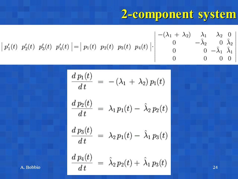 A. BobbioReggio Emilia, June 17-18, 200324 2-component system