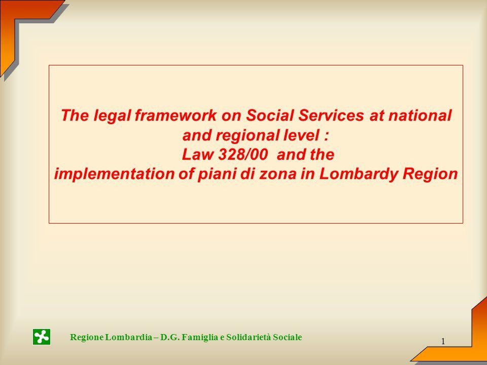 1 Regione Lombardia – D.G.