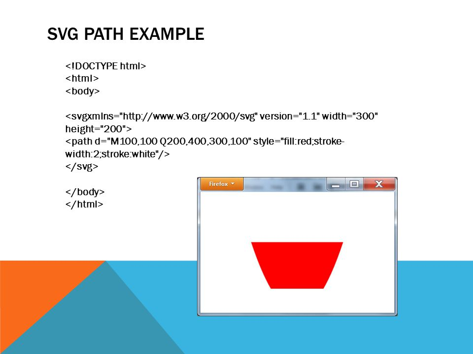 SVG PATH EXAMPLE