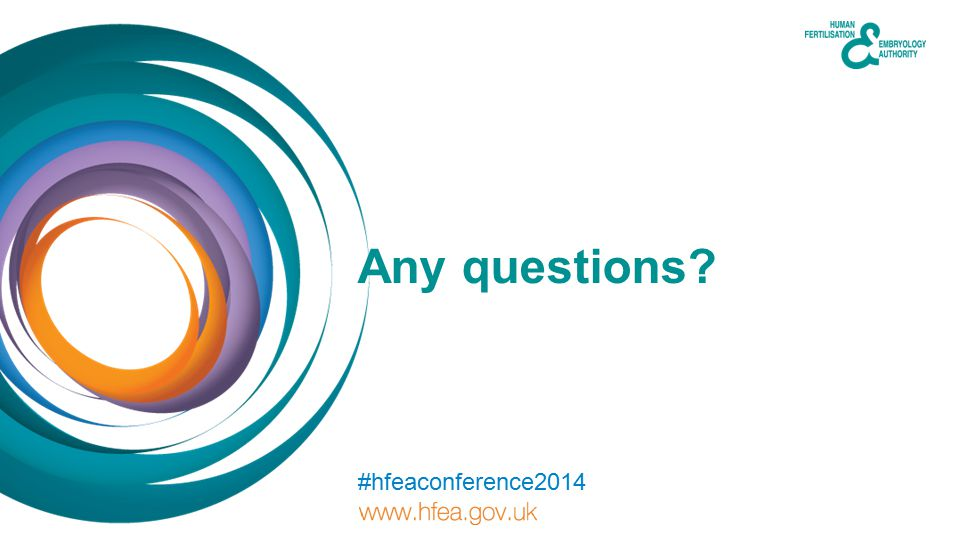 Any questions #hfeaconference2014