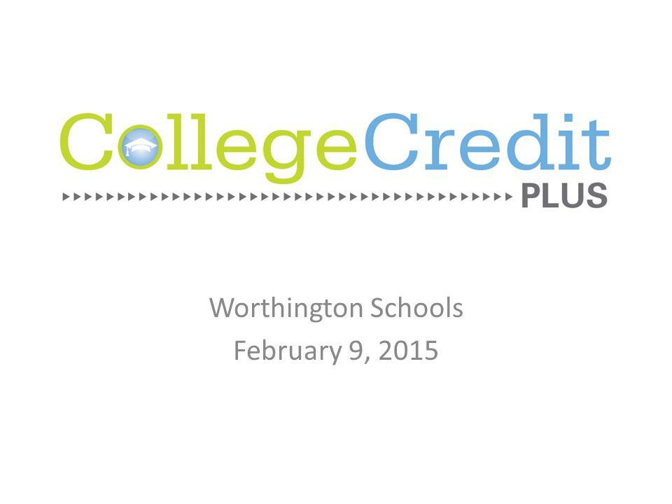 Worthington Schools February 9, 2015