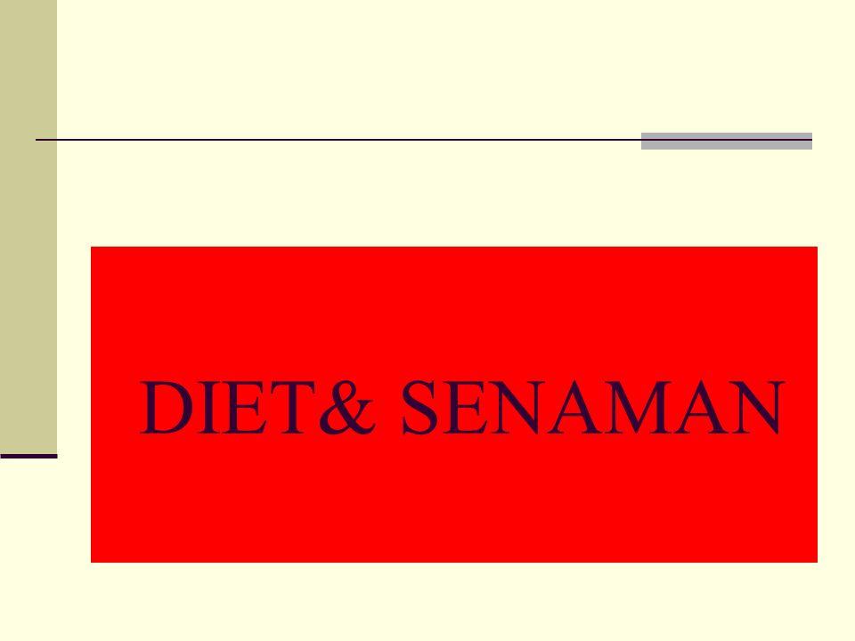 Langkah-langkah Bijak Ke Arah Kesihatan Yang Baik Seimbangkan pemakanan dan amalan Makan berbagai jenis makanan Jaga berat badan supaya unggul dan sed