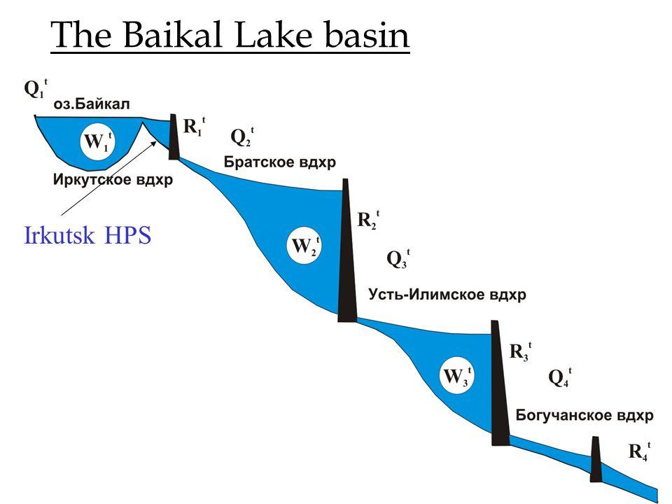 The Baikal Lake basin Irkutsk HPS