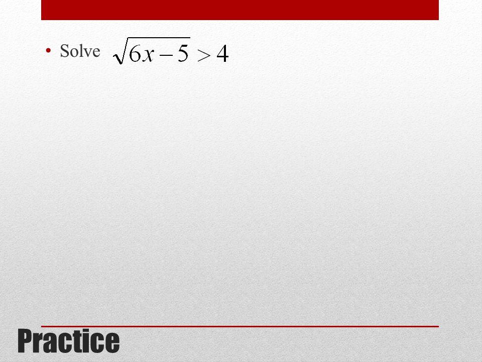 Solve Practice