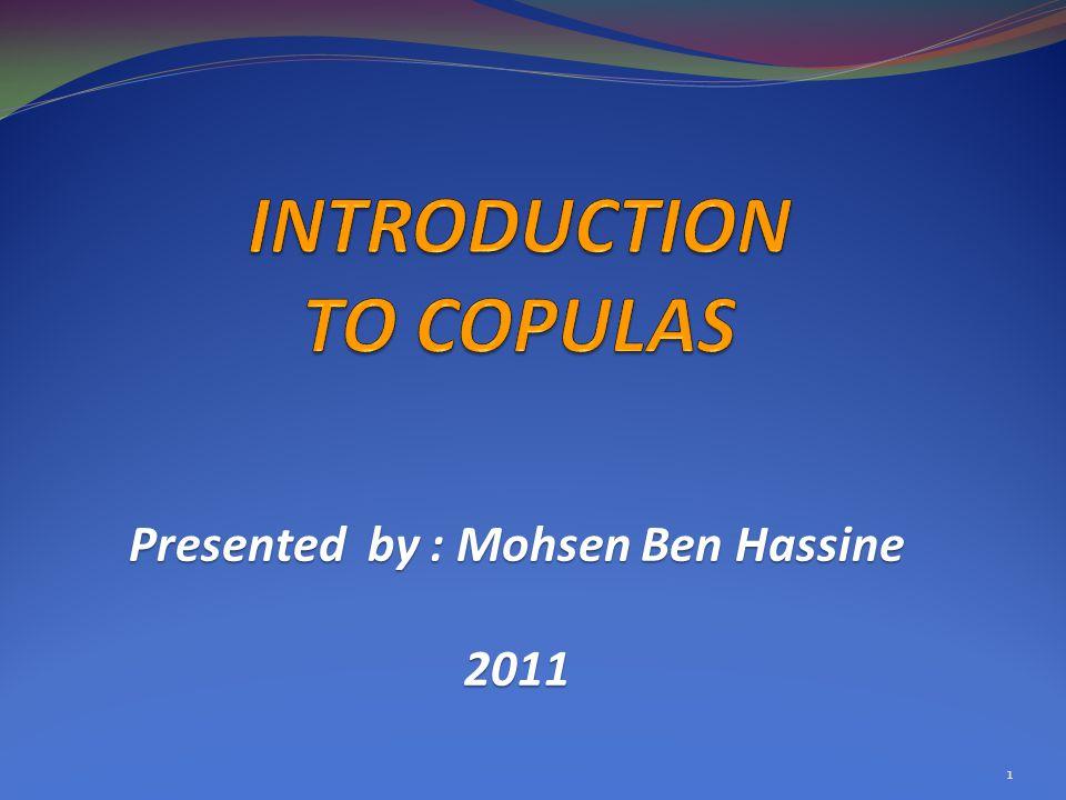 Presented by : Mohsen Ben Hassine 2011 1