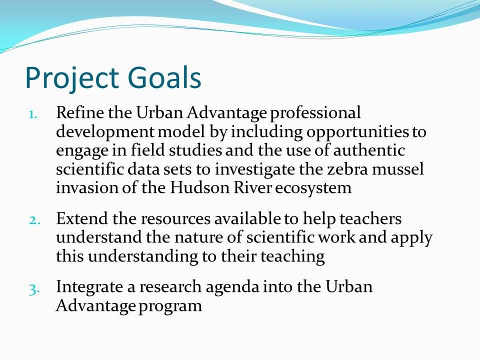 Project Goals 1.