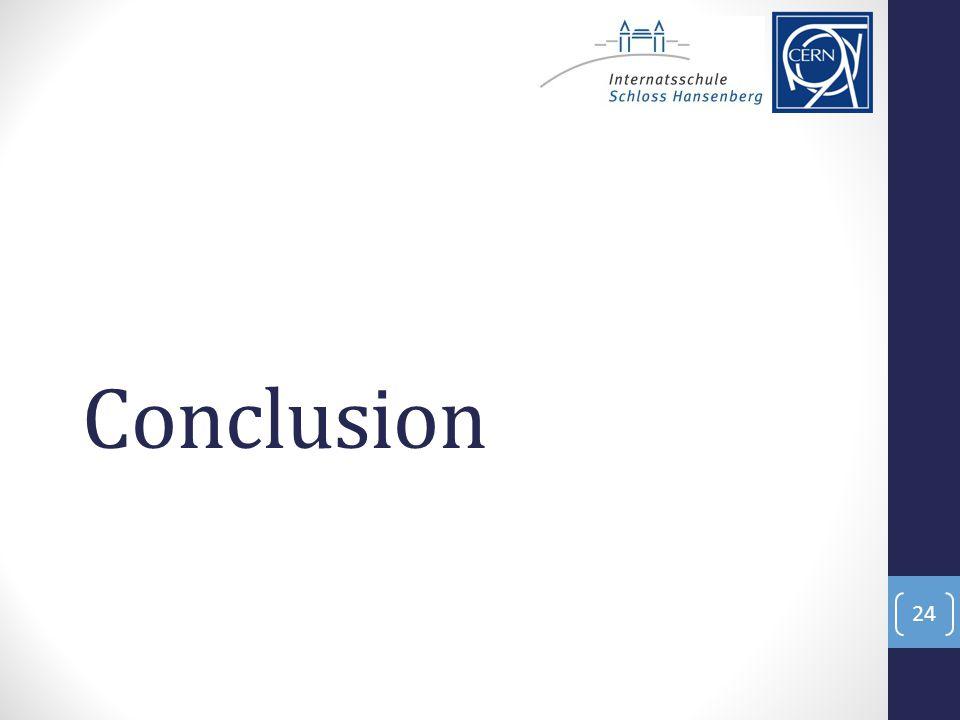 Conclusion 24