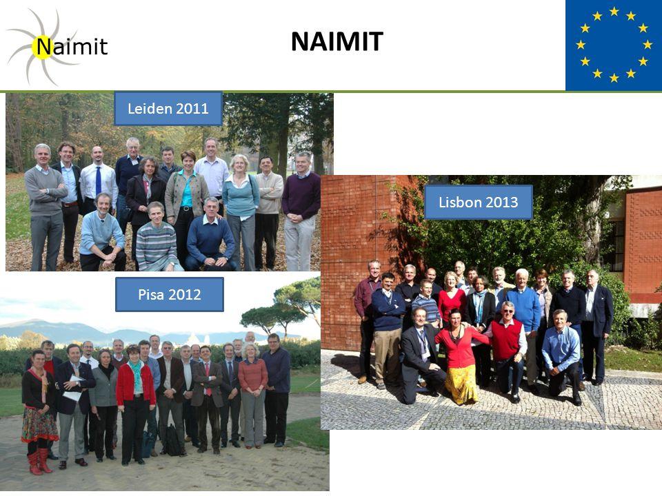 NAIMIT Naimit Leiden 2011 Pisa 2012 Lisbon 2013