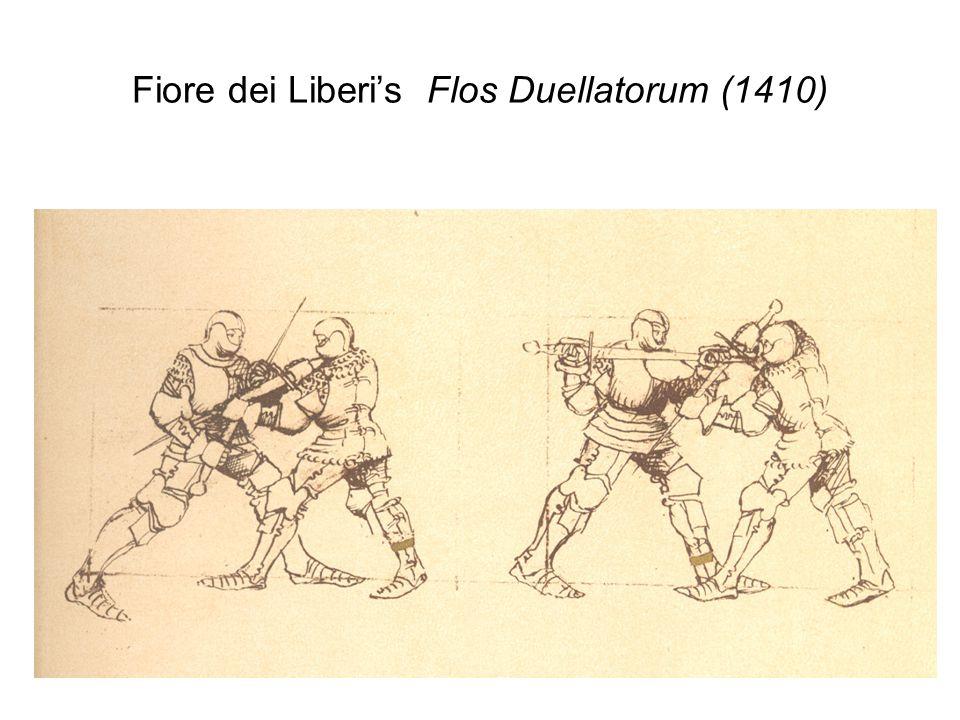 Fiore dei Liberi's Flos Duellatorum (1410)