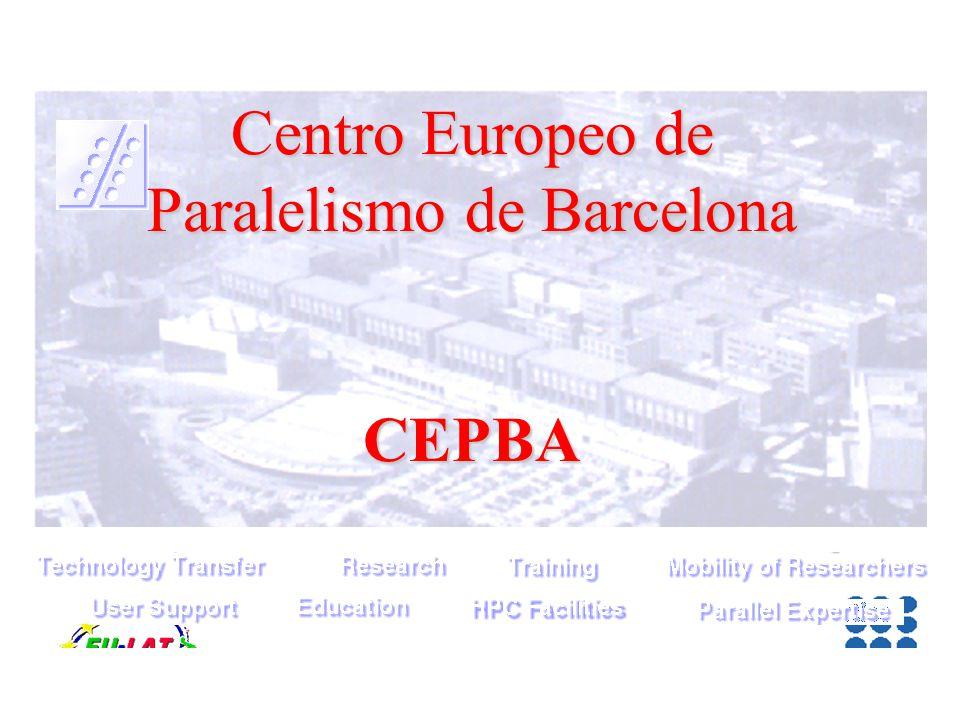 Centro Europeo de Paralelismo de Barcelona CEPBA