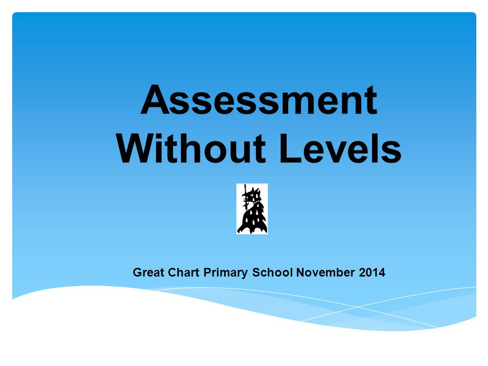 Assessment Without Levels Great Chart Primary School November 2014