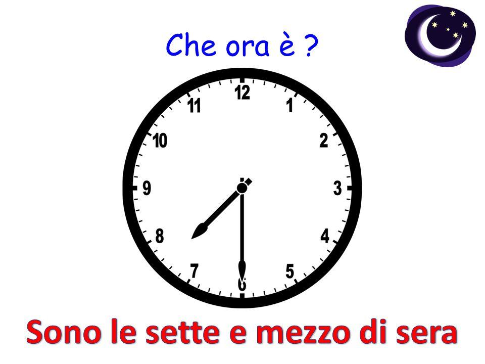 Che ora è ?
