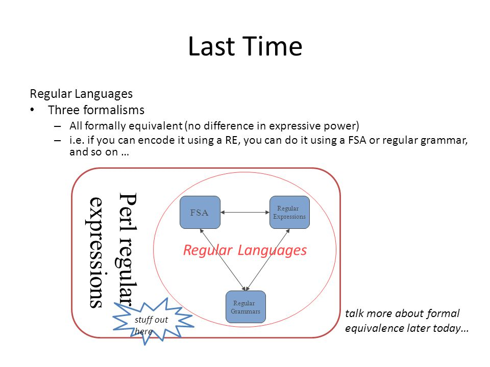 Perl Regular Expressions Perl regex can include backreferences to groupings (i.e.