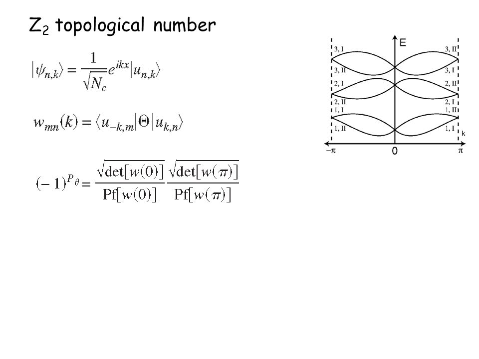 Z 2 topological number
