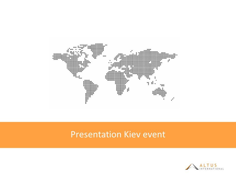 Presentation Kiev event