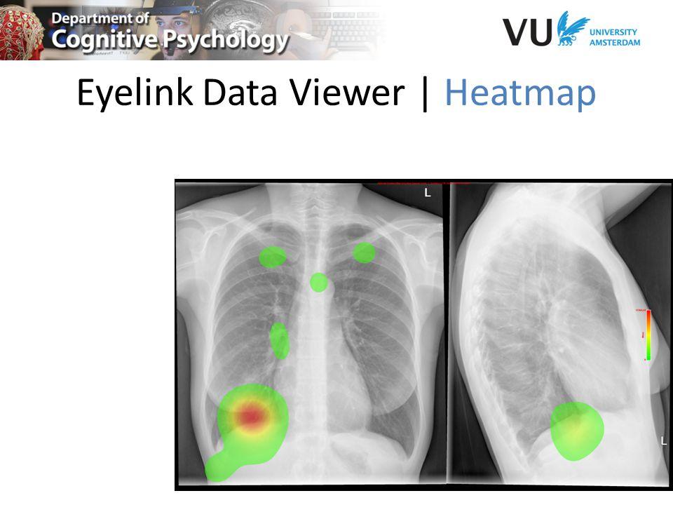 Eyelink Data Viewer | Heatmap