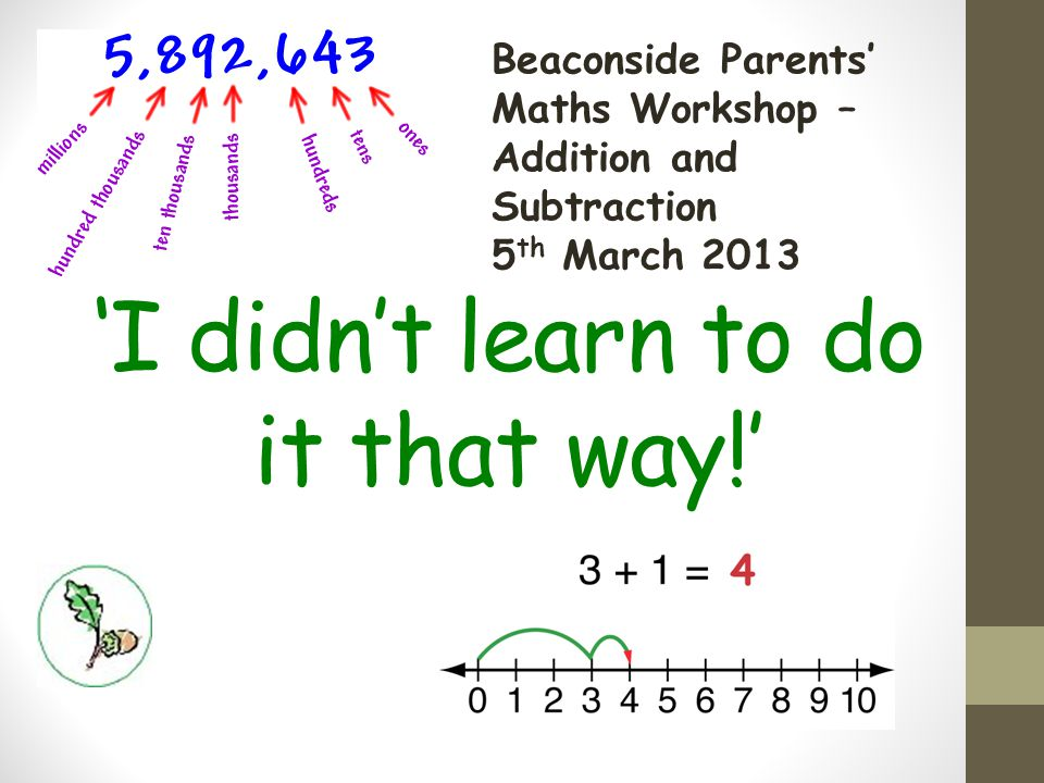 Maths.What's your experience. What are your first thoughts.